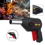 cozyrex,Hand Crank BBQ Fan Air Blower Powered Fire Bellows Camping Picnic Cooking Tool,CozyRex,