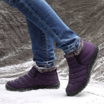 cozyrex,LOSTISY Women Snow Shoes Waterproof Keep Warm Comfy Boots,CozyRex,