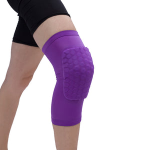 cozyrex,Honeycomb Basketball Shockproof Breathable Knee Pad,CozyRex,