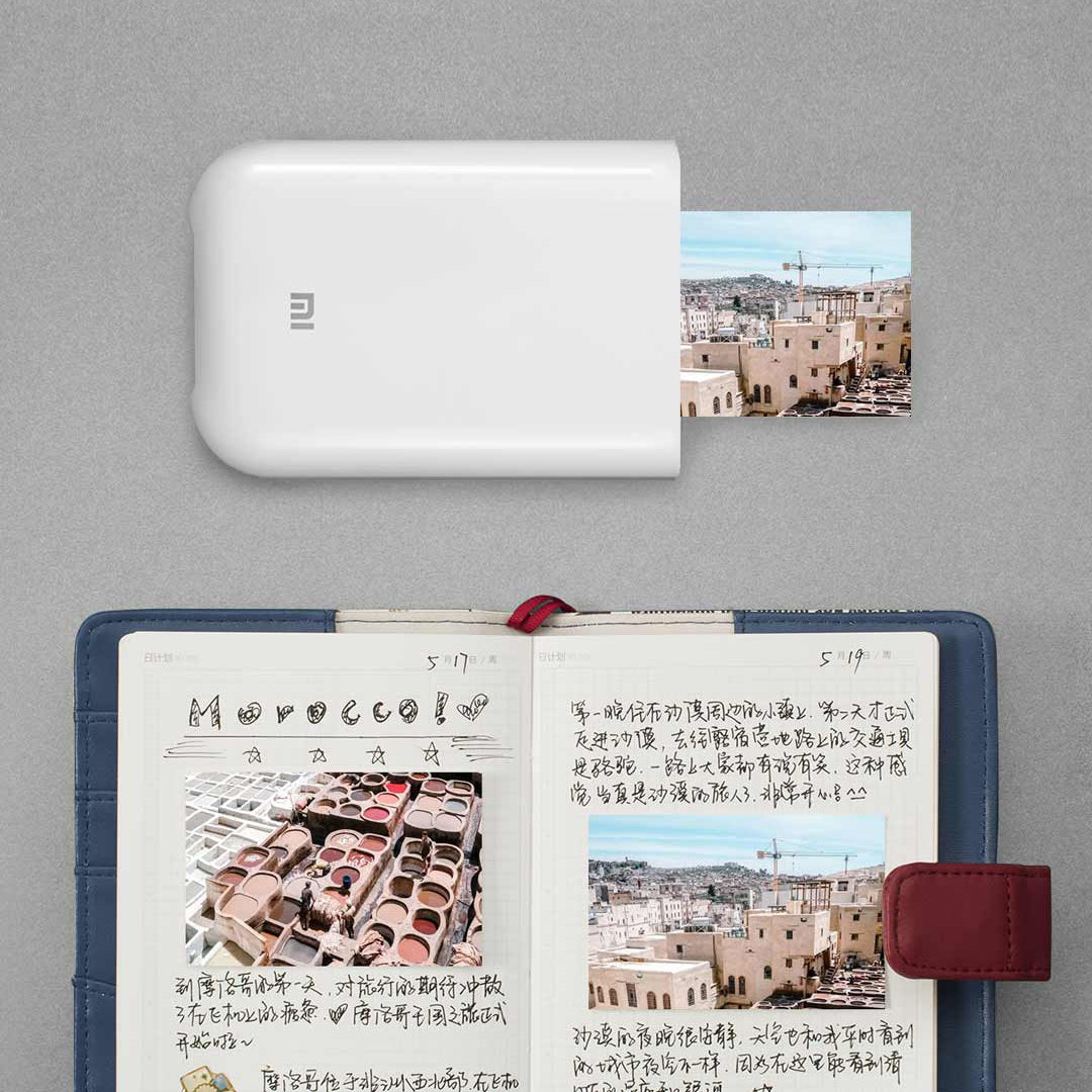 cozyrex,3 Inch Pocket Photo Printer - Non-Ink Mini Picture Printer With Bluetooth Connection,CozyRex,