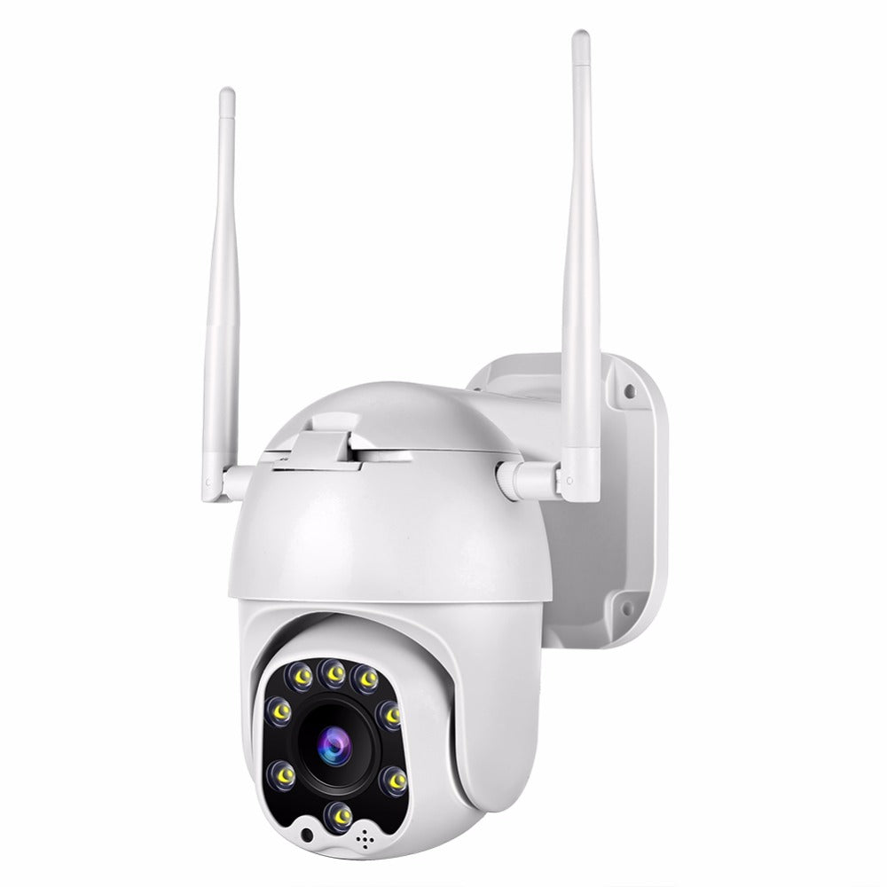Bakeey HD 8 LED Warm Light Smart WiFi IP Camera- Two-way Audio TF Card & Cloud Storage CCTV Monitor