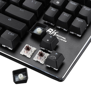 cozyrex,Royal Kludge G87 87keys Wireless bluetooth 3.0 USB Wired Mechanical Gaming Keyboard Brown Switch,CozyRex,
