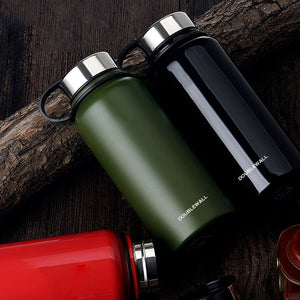 IPRee® 1100ml Outdoor Portable Vacuum Insulated Water Bottle Double Walled Stainless Steel Drinking Cup Sports Travel