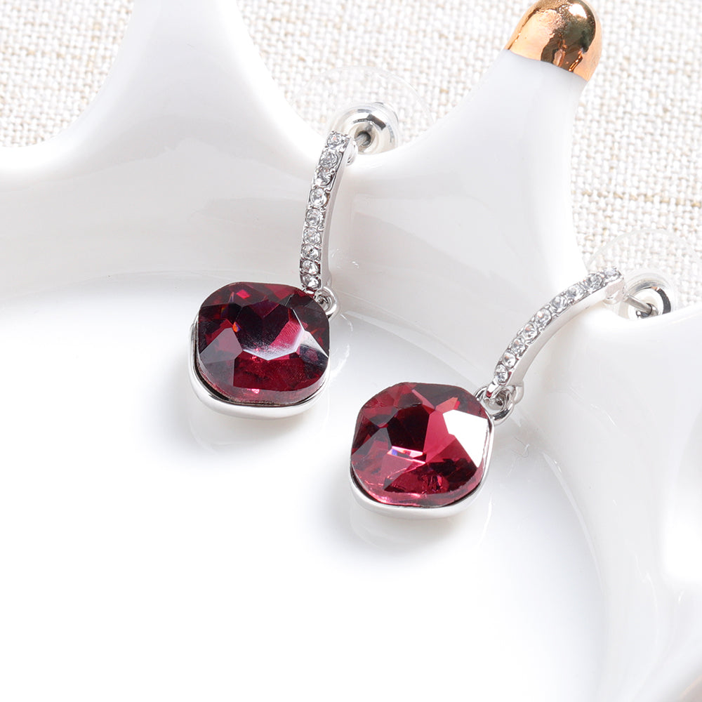 cozyrex,Elegant / Classic Crystal Drop Earrings Dazzling Rhinestone,CozyRex,