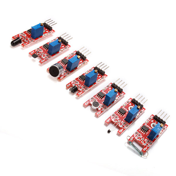 cozyrex,Geekcreit 37 In 1 Sensor Module Board - Set Starter Kits - Products Work with Official Boards,CozyRex,