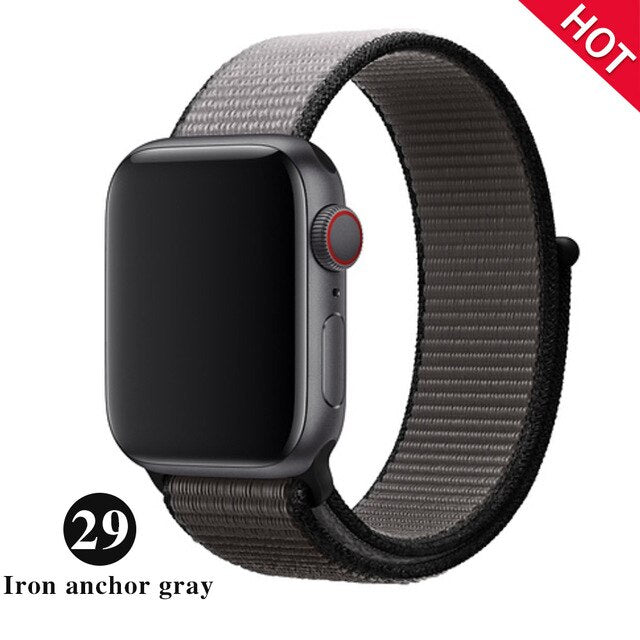 cozyrex,Breathable Nylon Strap For Apple Watch - Fits Series 1-5,CozyRex,