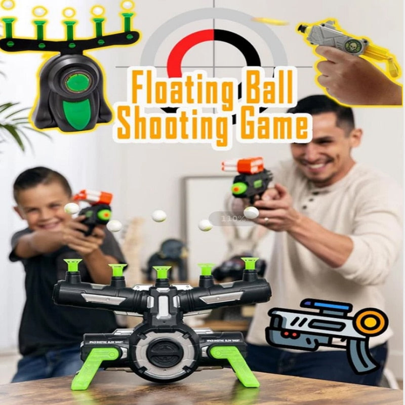 cozyrex,Floating Ball Shooting Game With Air Hover Shot - Floating Target Game For Holiday Season & Parties Fun,eprolo,