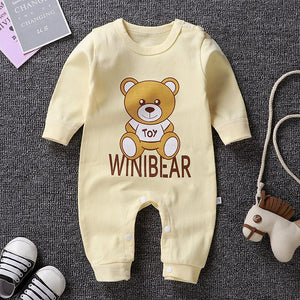 Newborn baby clothes 100% Cotton Long Sleeve Spring Autumn Baby Rompers Soft Infant Clothing toddler baby boy girl jumpsuits