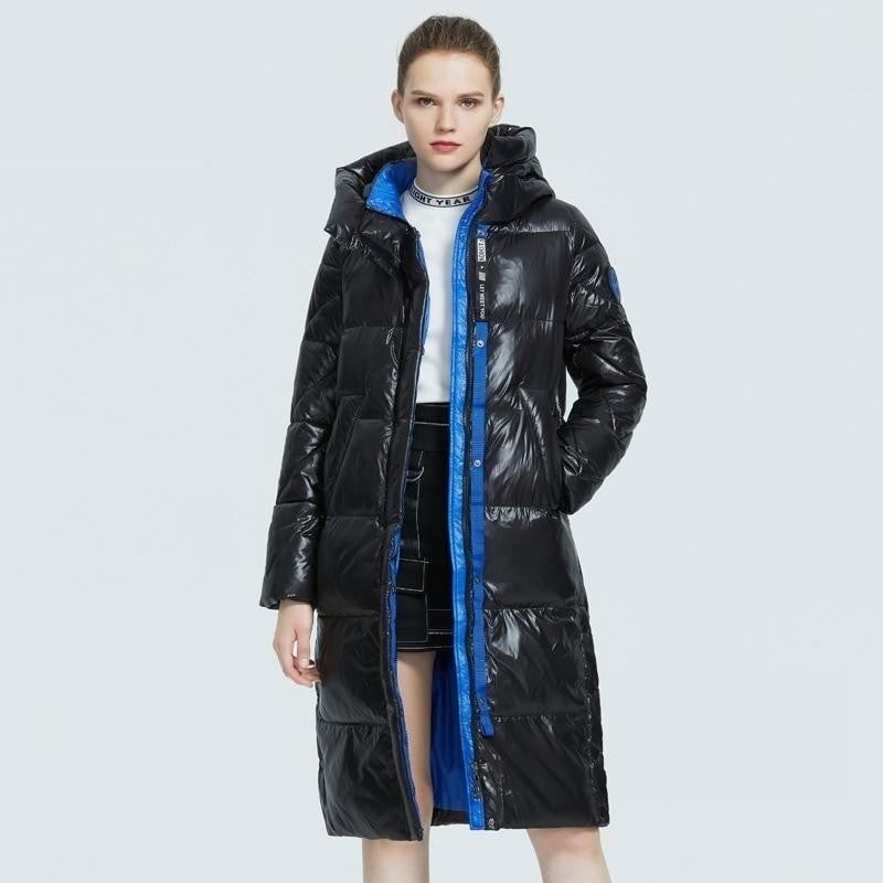 ICEbear 2020 new product women's parka  high-quality fashion long coat winter high-quality women's coat GWD20155D