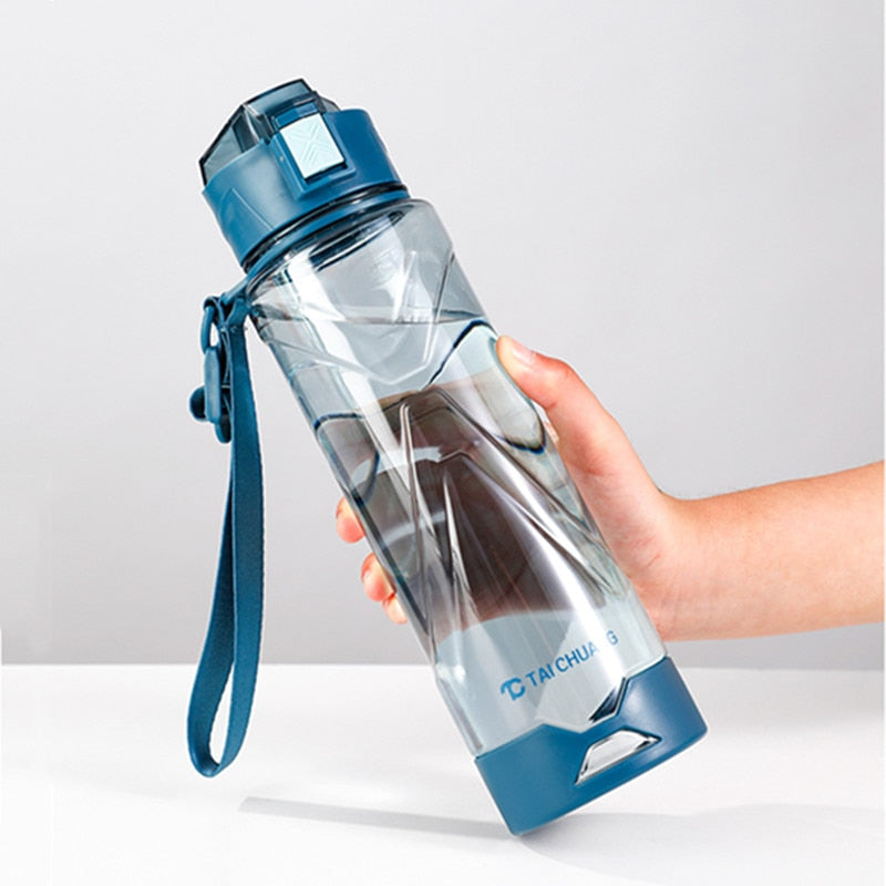 1000ml Portable Water Bottles BPA Free Plastic Durable Sport Drinking Bottle Outdoor Camping Cycling Hiking Sports Shaker Bottle