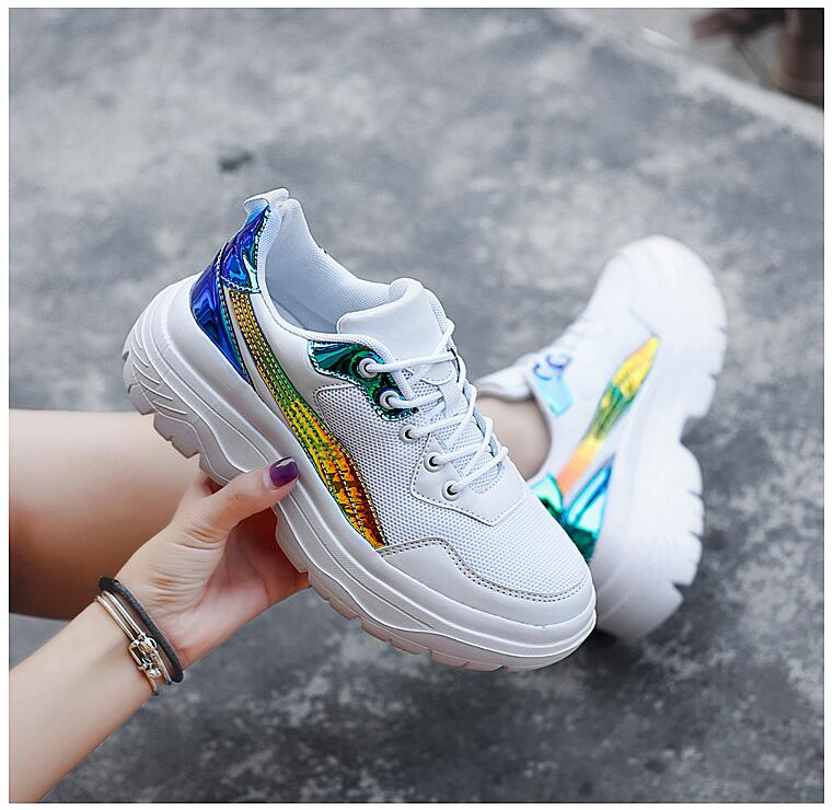 sport shoes women sneakers zapatillas hip hop casual fashion Colorful air mesh shoes STREETWEAR college shoes
