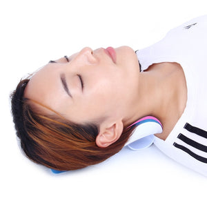 KLASVSA Neck shoulder relaxation Traction pillow For Orthopaedic Relief Neck And Support Shoulder Upper Spine Loose Pain Massage