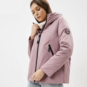 ICEbear 2020 New Women Jacket Women Spring Coat Fashion Casual Women Clothing Brand Praka GWC20061I