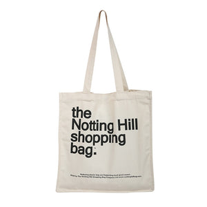 Women Canvas Shopping Bag Notting Hill Books Bag Female Cotton Cloth Shoulder Bag Eco Handbag Tote Reusable Grocery Shopper Bags (Notting Hill 2)