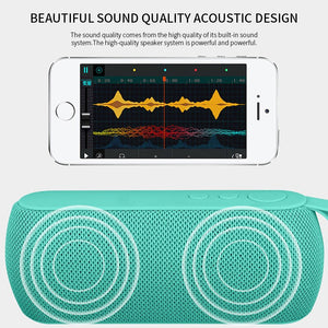 cozyrex,HJCE Portable Bluetooth Speaker Wireless Loudspeaker Sound System 3D Stereo Column Outdoor Speaker Support TF Card FM Aux Input,CozyRex,518