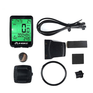Bicycle Computer Waterproof Wireless MTB Bike Cycling Odometer Speedometer Odometer Stopwatch for Cycling Bicycle Accessories