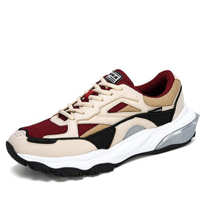 BONA 2020 New Designers Action Leather Running Shoes Men Outdoor Sports Shoes Sneakers Man Trendy Athletic Training Footwear