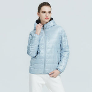 ICEbear 2020 New Women Lightweight Down Jacket Stylish Casual Spring parka  Brand Clothing GWY19151D