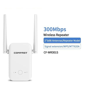 300Mbps Long Range 2.4Ghz Wireless Wifi Router High Power Wifi Repeater Wifi Extender Wlan Wi-fi Amplifer