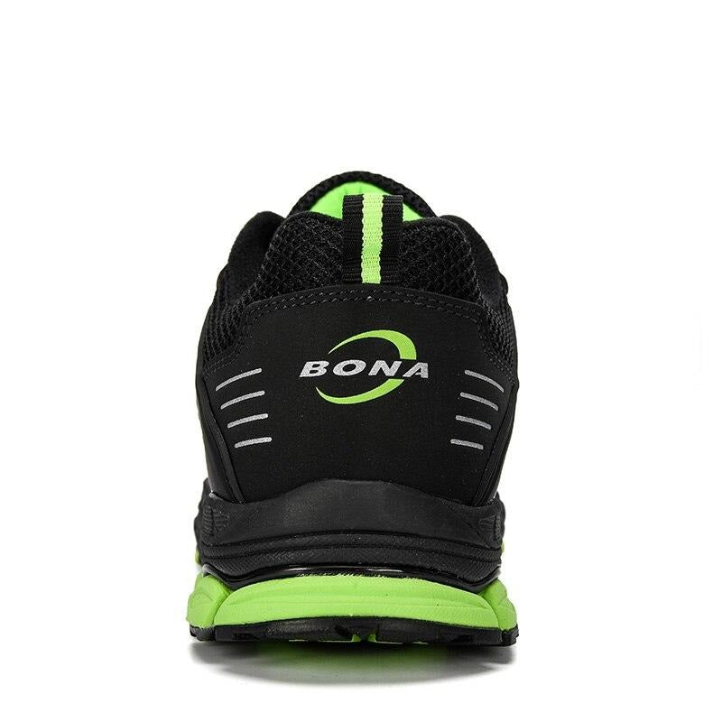 BONA 2019 New Designer Popular Running Shoes Men Comfortable Anti Slip Male Athletic Shoes Outdoor Walking Sneakers Man Trendy