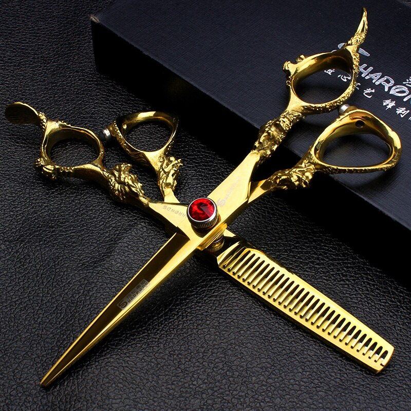 7inch Professional Dog Pet Grooming Scissors Straight Thinning Cutting Shears Cat Dog for Groomer Hair Cutting Dog Grooming Tool