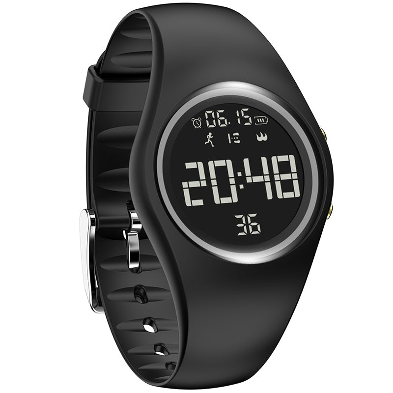 Waterproof Digital Smart Sports Women Watch Pedometer Monitor Calorie Intelligent Motion Fitness Watches Fitness Creative Clock