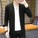 2018 Cardigan Sweater Coat Men New Autumn winter Fashion Casual Male Loose Warm Knitting Clothes Jumper Sweater Coats RE0949