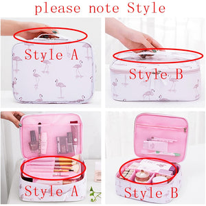 cozyrex,Brand organizer travel fashion lady cosmetics cosmetic bag beautician storage bags large capacity Women makeup bag H127,CozyRex,