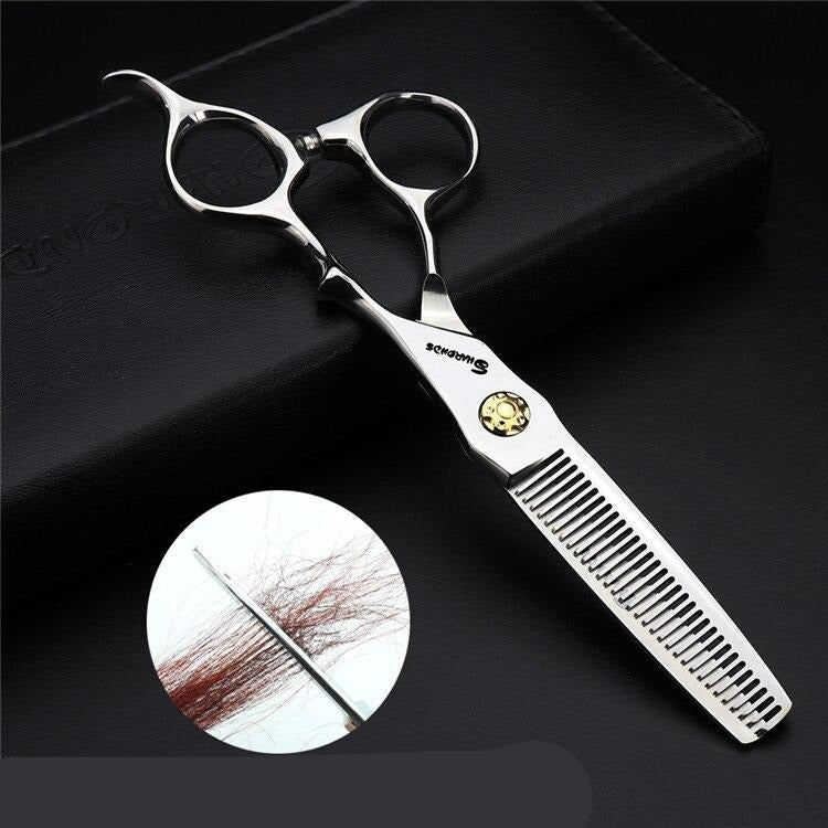 Professional Grooming Pet Hair Scissors Kit 440C Groomer dog cat Scissors 5.5 Inch 6 Inch Haircut Cutting Shears Thinning Cliper