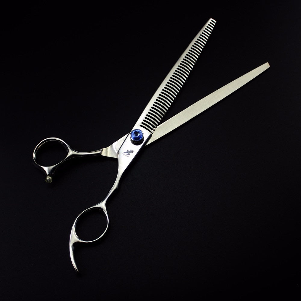 High Quality Japan 440C 8 Inch Pet Dog Grooming Thinning Scissors Grooming Shears for Dogs Thinning Rate 35%