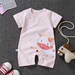 Newborn Baby Rompers Summer Clothing Infant Jumpsuits 100%Cotton Stripe  Roupa De  Girls&Boys Baby Clothes