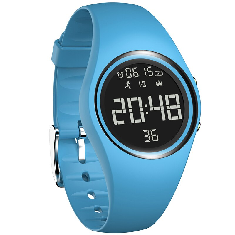 Trendy personality waterproof Sports Smart Watch Women's Pedometer  Calorie Consumption Motion Fitness Watches Alarm Clock 2020