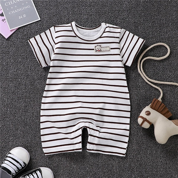 2020 Newborn Baby Rompers girl Clothing Infant Jumpsuits  unsiex  Stripe  Roupa De  Girls&Boys Baby Clothes