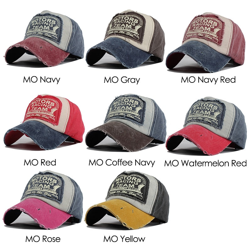 [FLB] Wholesale Spring Cotton Cap Baseball Cap Snapback Hat Summer Cap Hip Hop Fitted Cap Hats For Men Women Grinding Multicolor