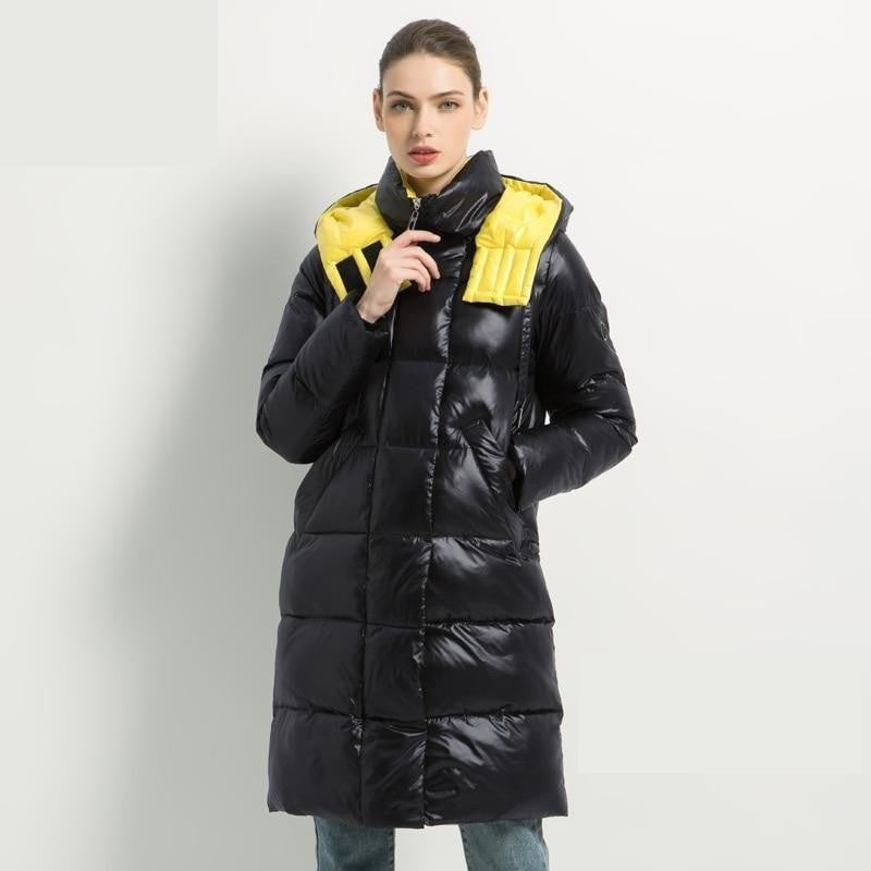 2020 New Winter Female Jacket High Quality Hooded Coat Women Fashion Jackets Winter Warm Woman Clothing Casual Parkas