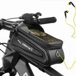 Bicycle Bag Frame Front Top Tube Bike Bag Waterproof Reflective 7 in Phone Case Touchscreen Bag Cycling Accessories Bicycle Bags