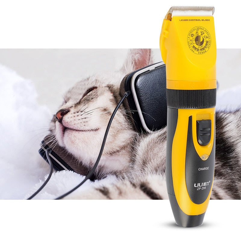 Professional high-power pet electric clipper shaver dog electric fader large dog and cat hair Teddy shearing artifact