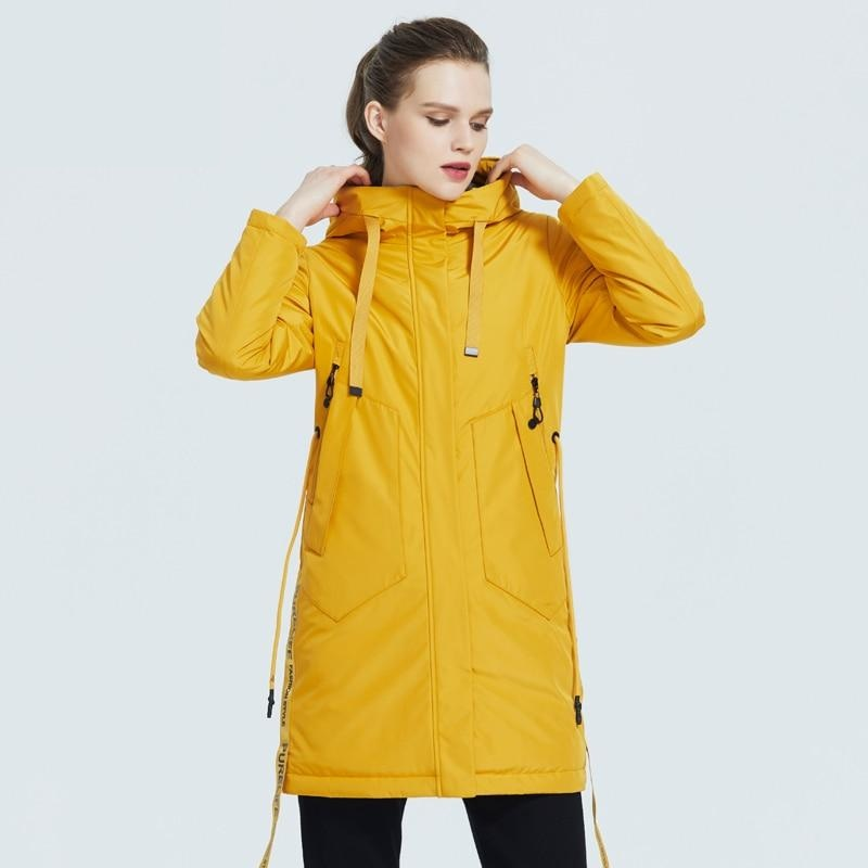 ICEbear 2020 Women spring jacket Female coat with a hood casual wear quality parka brand clothing GWC20035I