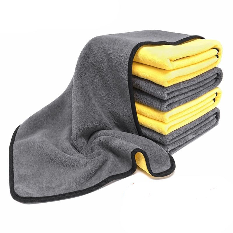 Car Wash Towel 40X80cm Car Care Microfiber Washing Towels Strong Thick Plush Fiber Detailing Auto Cleaning Cloth Accessories