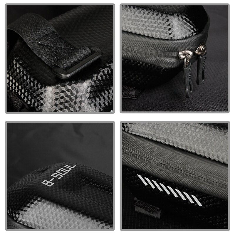 Bike Handle Bar Bag Bicycle Accessories Handle Bike for Bag Waterproof Hard Case Cycling Rear Pouch Frame Saddle Bicycle Bags