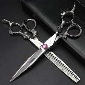 7 inch 8 inch 9 inch beauty bending pet hair cutting animal scissors set professional cat dog modeling tool