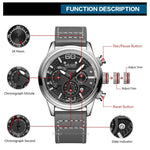 Megir Fashion Mens Watches 2020 Luxury Top Brand Quartz Watch Military Sport Mesh Strap Waterproof Wrist Watches Men Relogios