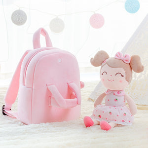 cozyrex,Gloveleya Plush Backpack girls backpack toddler backpack for girl Spring Girl Strawberry Toy cute backpack,CozyRex,200001420