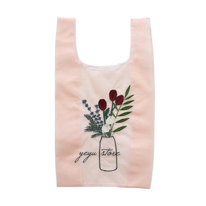 Summer Women Transparent Tote Organza Yarn Cloth Beach Bag Embroidery Handbag High Quality Eco Clear Hand Bags Purse For Girls