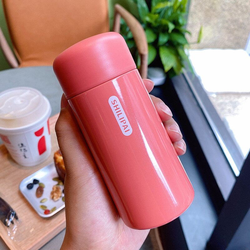 150ml Mini Thermos Mug Portable Stainless Steel Vacuum Flasks Fashion Cute Thermal Water Bottle Tumbler Thermocup