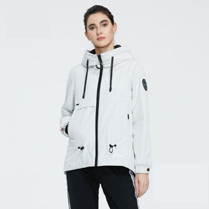ICEbear 2020 Women jacket with a hood stylish casual women parka women spring clothes brand clothing GWC2023D