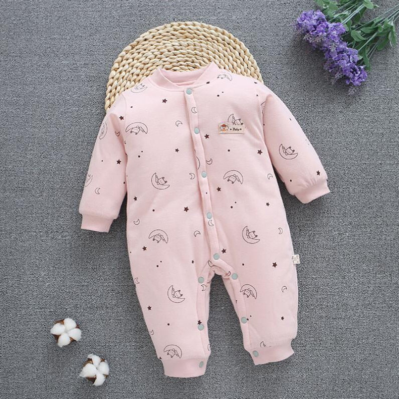 Baby Clothes NewBorn Baby Boy Girl Thick Romper Children's Jumpsuit Cotton Outfits Winter Clothes Warm Infant Clothing