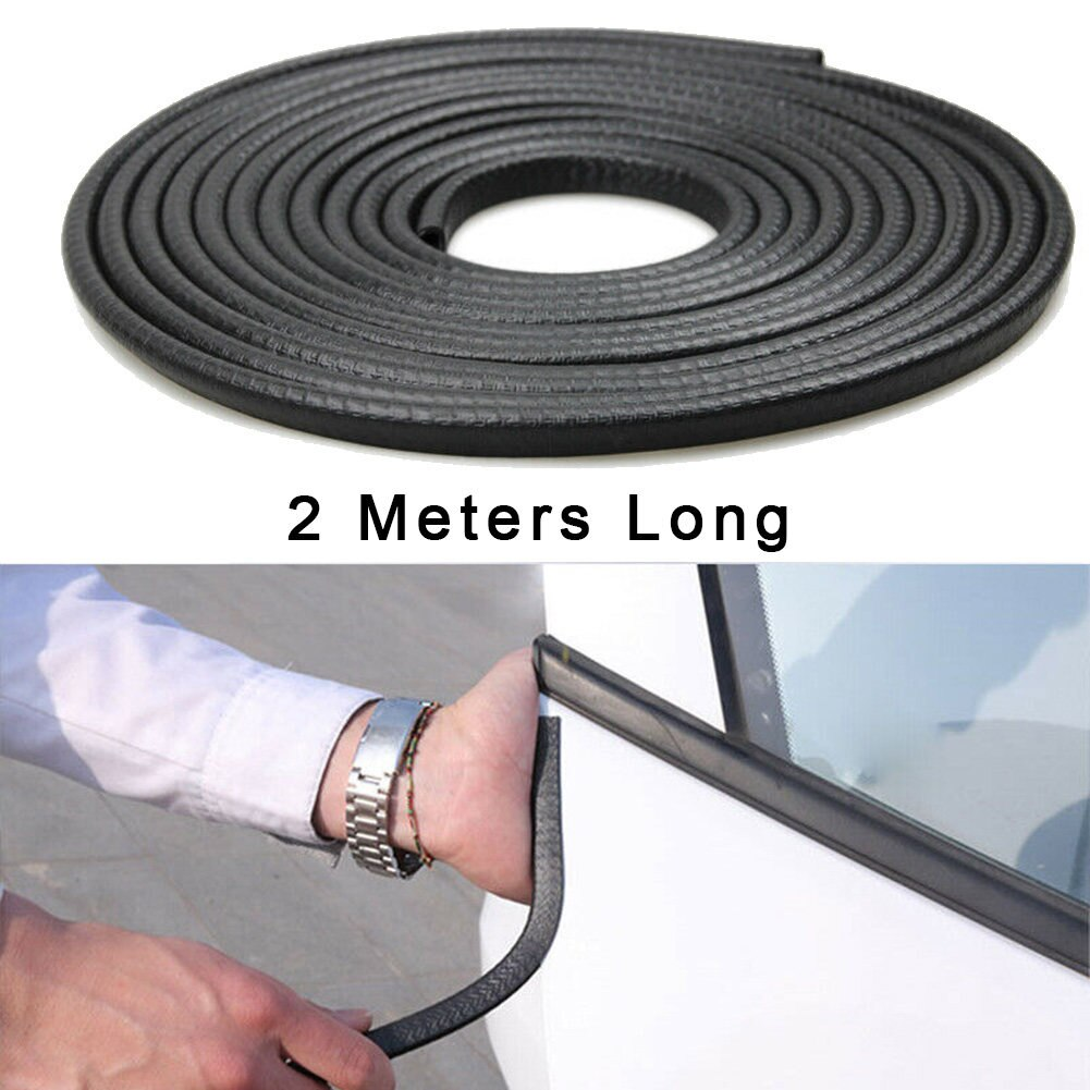 Universal Car Door Edge Scratch Protector 10M Sealing Strip Guard Trim Automobile Door Stickers Decoration Protector Accessories