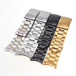 cozyrex,Stainless Steel Strap Side Push Button Buckle Watch Band,CozyRex,Watch Strap & Strap Hoop Loop