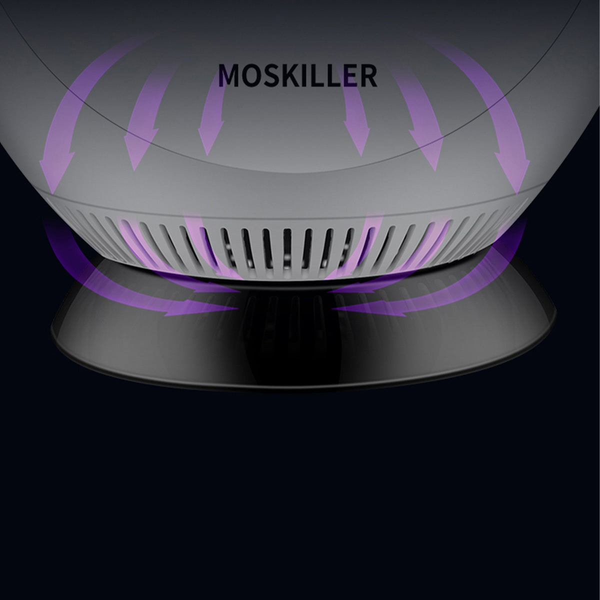 cozyrex,360° USB Electronic Mosquito Killer Lamp LED UV Light Fly Bug Insect Trap Zapper,CozyRex,